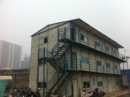 nhà lắp ghép 3 tầng